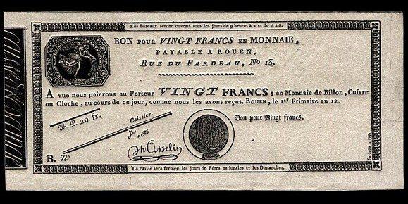 N-13 – Le banconote del Consolato