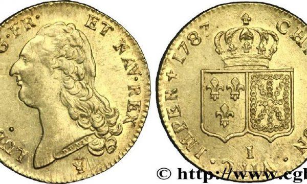 Un peso monetale del XVIII secolo