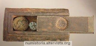 Un portamonete di 2000 anni fa