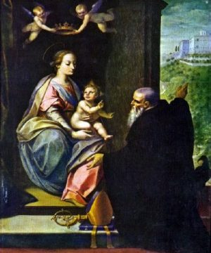 San Benedetto raccomanda Montecassino