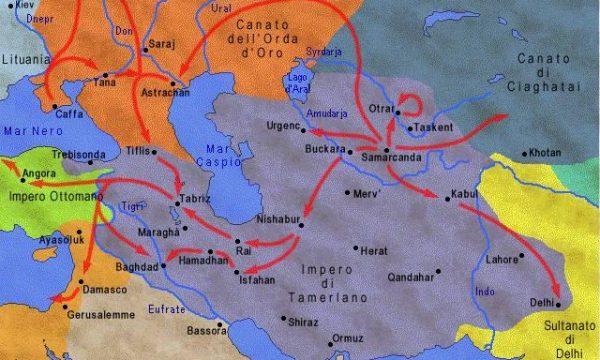 Timur-i lang (detto Tamerlano, 1336-1405)