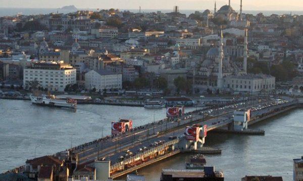 Il ponte Galata di Istanbul