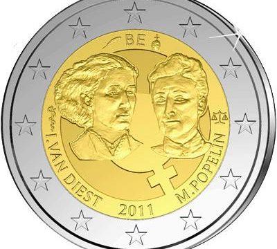 Belgio: 2 euro commemorativo 2011