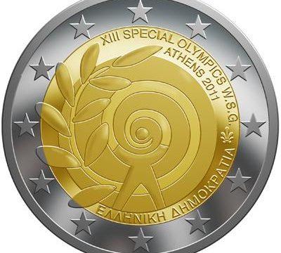 La Grecia presenta il suo 2 euro commemorativo del 2011