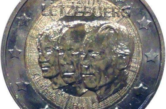 Lussemburgo: 2 euro commemorativo 2011