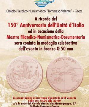 Gaeta: mostra per il 150° dell'Unità d'Italia