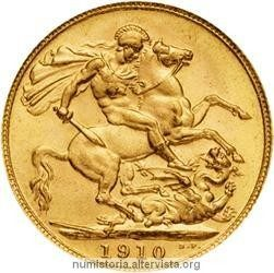 History and characteristics of gold sovereign