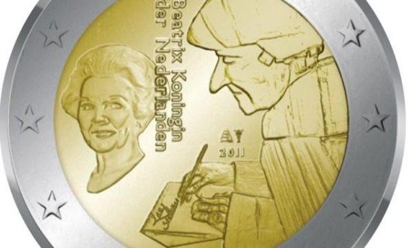 Paesi Bassi: 2 euro commemorativo 2011