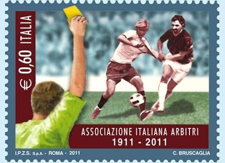 Calcio: i 100 anni dell'Associazione Arbitri
