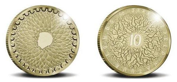 Paesi Bassi: tre monete per il 50° del WWF