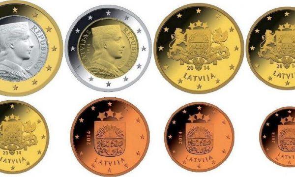 Lettonia, programma numismatico 2017