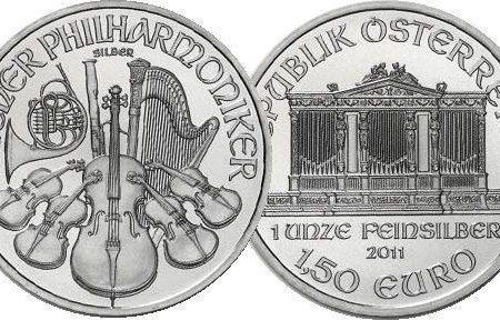 Austria, tiratura delle monete Filarmonica 2018