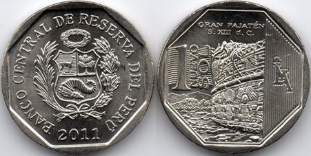 Perù, una moneta per Gran Pajáten