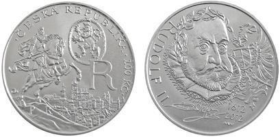 Repubblica Ceca, moneta per Rodolfo II