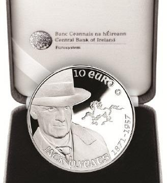 Irlanda, 10 euro per il pittore Jack Butler Yeats
