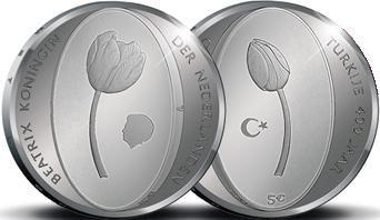 Paesi Bassi, moneta per i 400 anni di relazioni diplomatiche con la Turchia