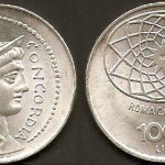 1.000 lire 1970 in argento, Roma capitale