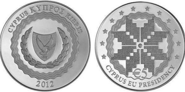 Cipro, 5 euro per la presidenza del consiglio europeo 2012