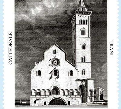 Francobollo per la cattedrale di Trani