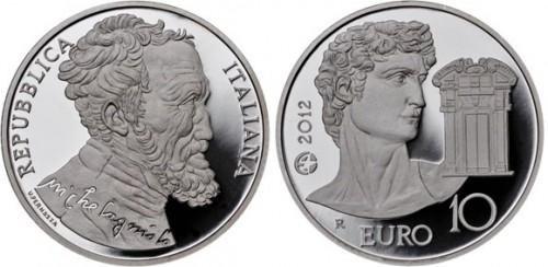 Italia, 10 euro per Michelangelo Buonarroti