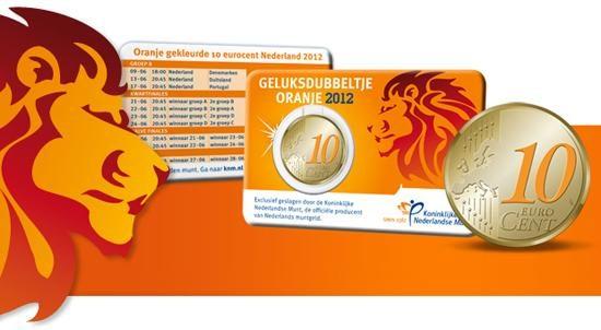 Olanda, 10 centesimi colorati per gli europei di calcio