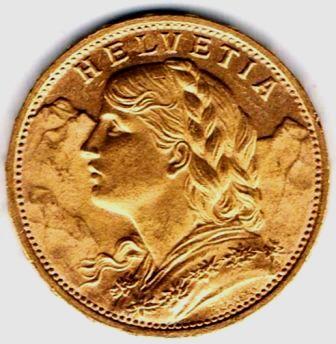 8f60b9c44a Valore delle monete di borsa. svizzera_vreneli_marengo