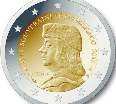 Monaco, 2 euro commemorativo 2012