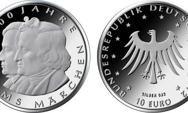 Germania, 10 euro per le favole dei fratelli Grimm
