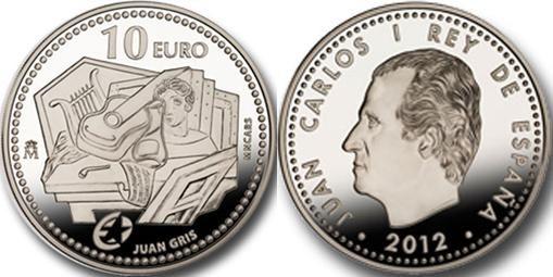 Spagna, 10 euro per il pittore Juan Gris