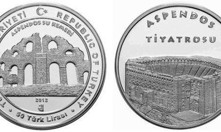 Turchia, moneta per la città di Aspendos