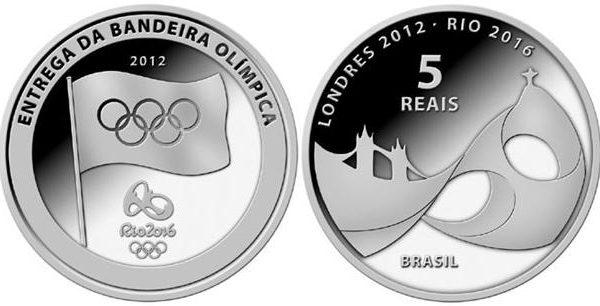 Brasile, prime monete per Rio 2016