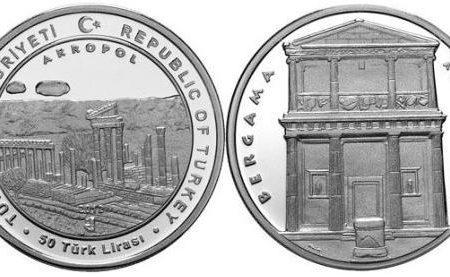 Turchia, moneta per la città di Pergamo