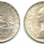 Le 500 lire Caravelle in argento