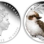 Australia, mezza oncia Kookaburra 2012