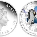 Australia, oncia d'argento per il pinguino