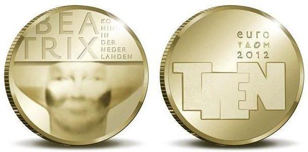 Paesi Bassi, una moneta per la scultura