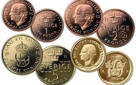 Svezia, nuove monete ordinarie dal 2016