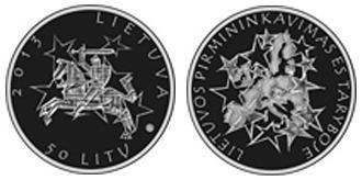Lituania, moneta per la presidenza UE 2013
