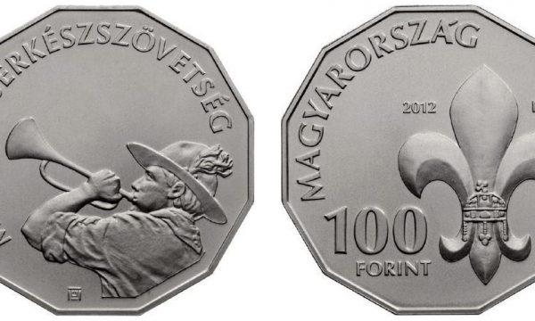 Ungheria, una moneta per gli Scout