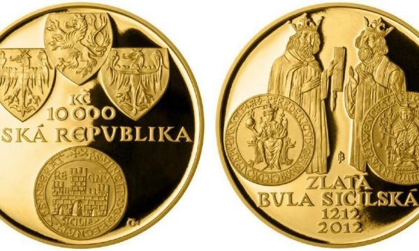 Rep. Ceca, moneta per la Bulla Aurea Siciliæ
