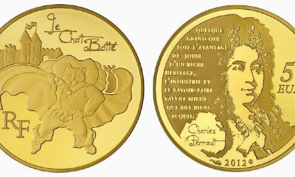 Francia, moneta per il Gatto con gli Stivali