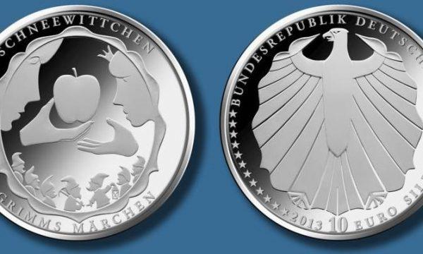 Germania, moneta per la fiaba di Biancaneve