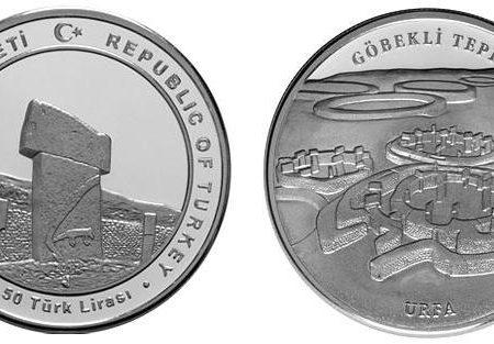 Turchia, moneta per il tempio di Göbekli Tepe