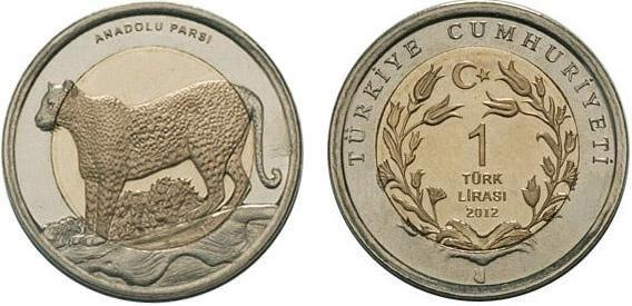 Turchia, moneta per il leopardo dell'Anatolia