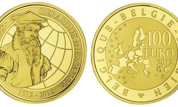 Belgio, moneta in oro per Mercatore
