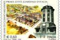 Francobollo per i 100 anni di Cusano Milanino