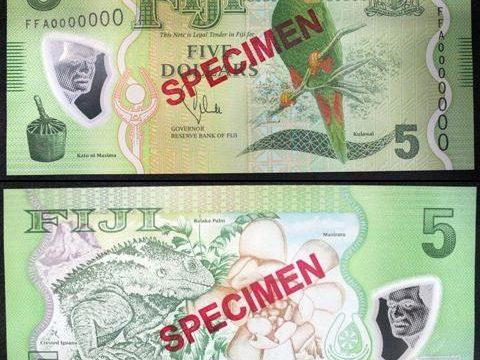 Fiji, arriva la nuova serie di banconote