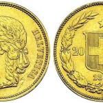 Le monete d'oro svizzere (1883-1949)