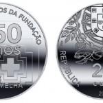 Portogallo, moneta per il 150° anniversario della Croce Rossa