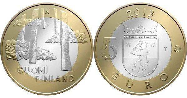 Finlandia, moneta per Sammallahdenmäki